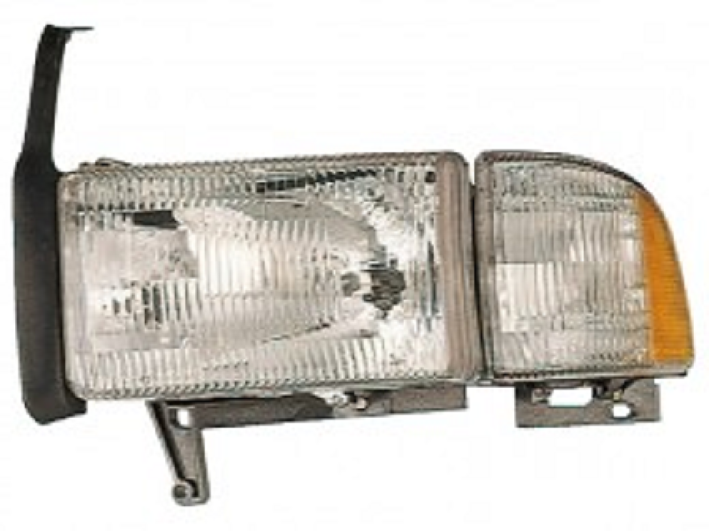 Dodge RAM 1500 1996 1997 1998 1999 2000 2001 left driver headlight
