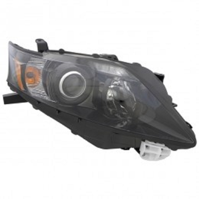 Lexus RX350 2012 right passenger headlight black bezel