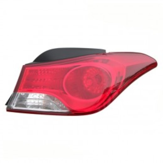 Hyundai Elantra sedan 2011 2012 2013 tail light outer right passenger