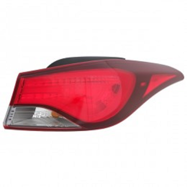 Hyundai Elantra sedan 2014 2015 2016 tail light outer right passenger