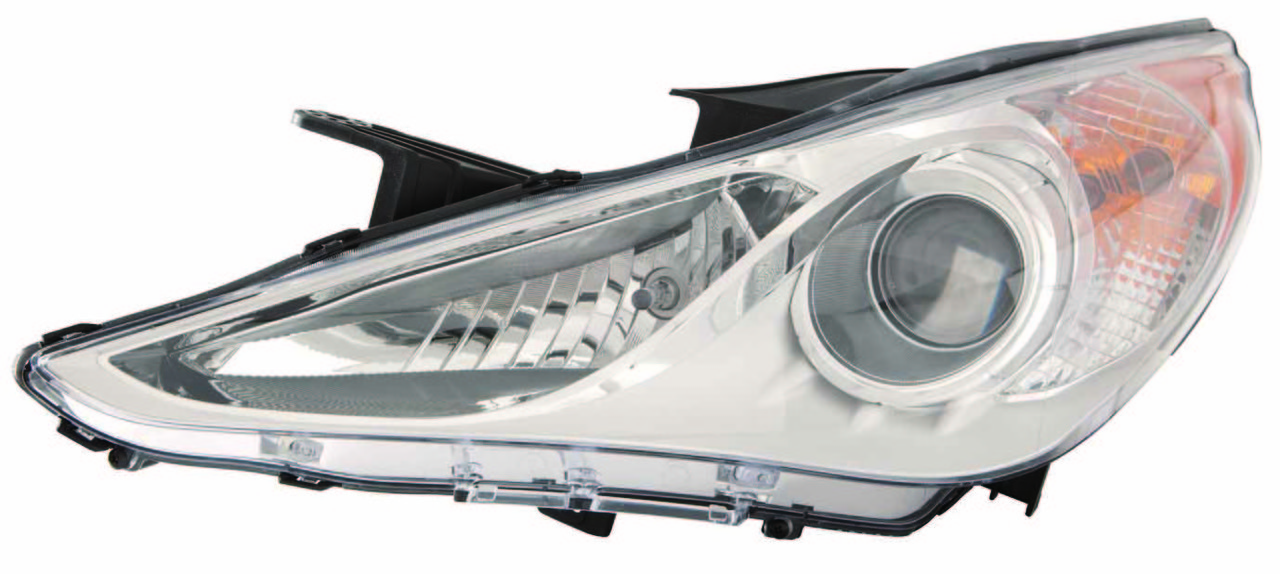 Hyundai Sonata GLS model 2011 2012 2013 2014 left driver headlight