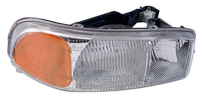GMC Sierra 1999 2000 2001 2002 2003 2004 2005 2006 right passenger headlight