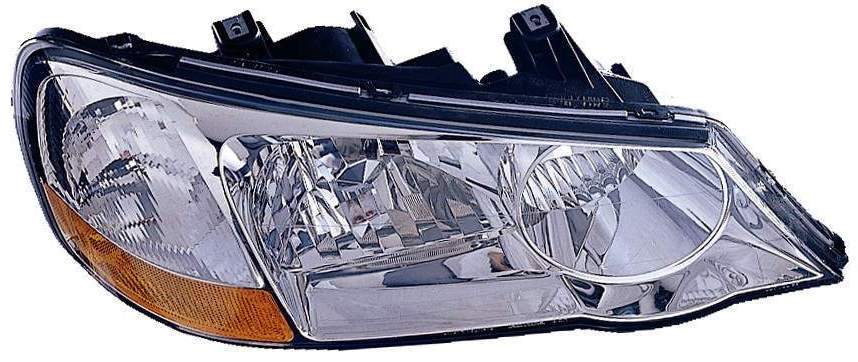 Acura TL 2002 2003 right passenger headlight