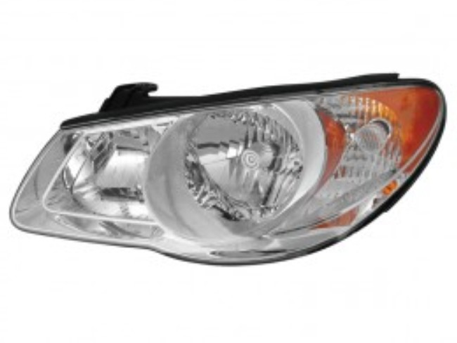 Hyundai Elantra sedan 2007 2008 2009 2010 left driver headlight