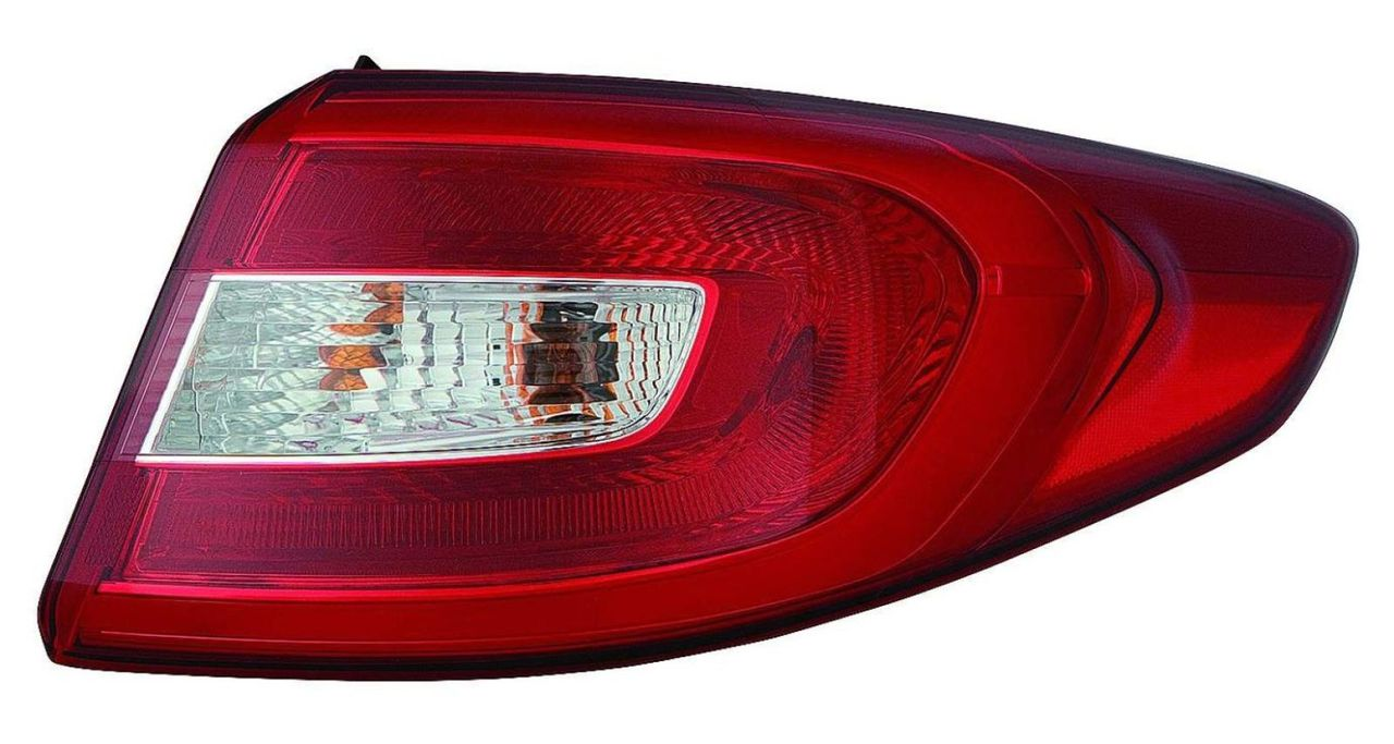Hyundai Sonata 2015 2016 tail light outer right passenger