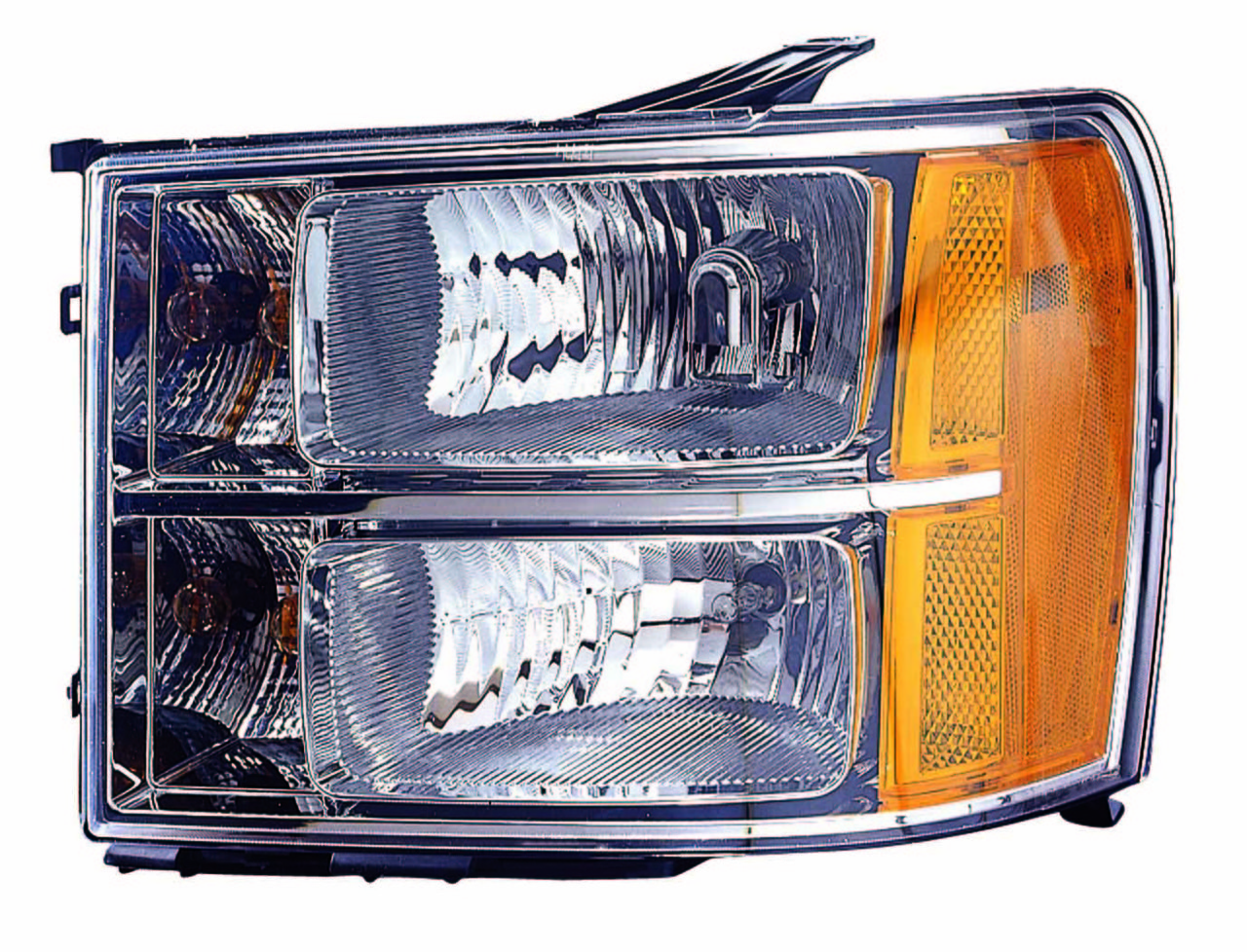 GMC Sierra 1500/2500/3500 2011 2012 2013 left driver headlight