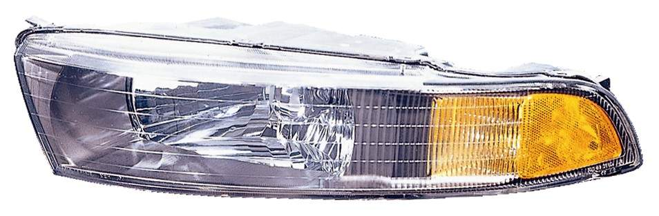 Mitsubishi Galant 2002 2003 left driver headlight