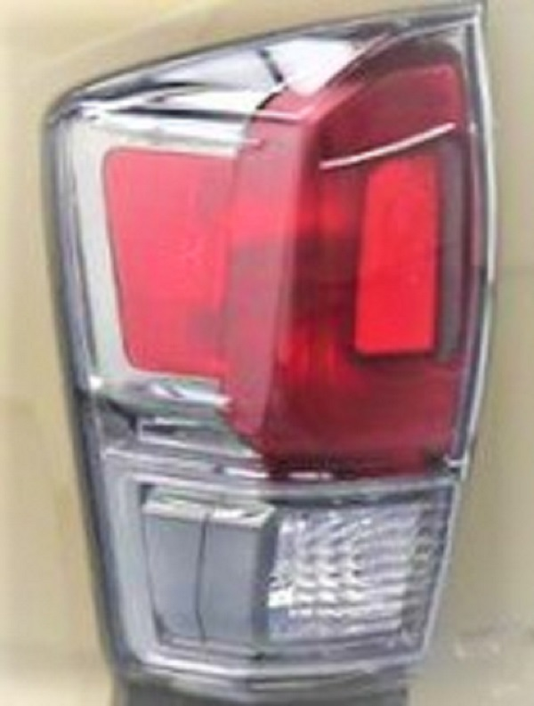 Toyota Tacoma Limited 2016 2017 tail light left driver