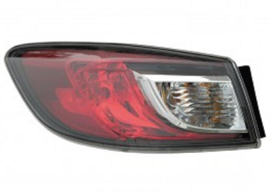 Mazda 3 Sedan 2010 2011 2012 2013 tail light outer left driver