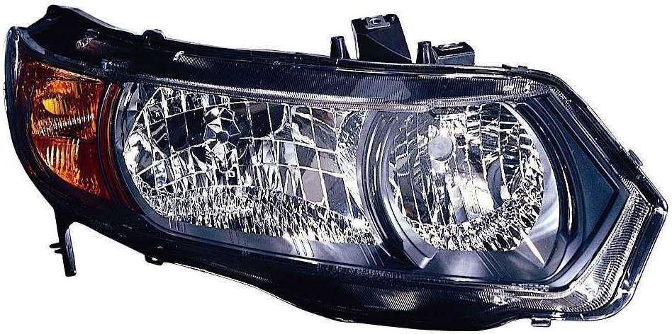 Honda Civic Coupe 2006 2007 2008 2009 right passenger headlight
