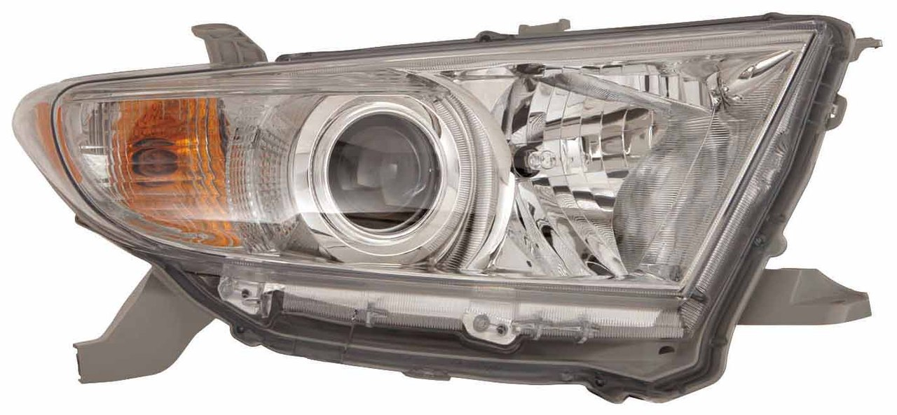 Toyota Highlander 2011 2012 2013 right passenger headlight