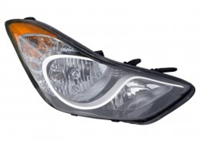 Hyundai Elantra sedan 2011 2012 2013 right passenger headlight