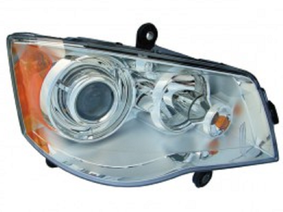 Chrysler Town and Country 2008 2009 2010 right passenger HID headlight