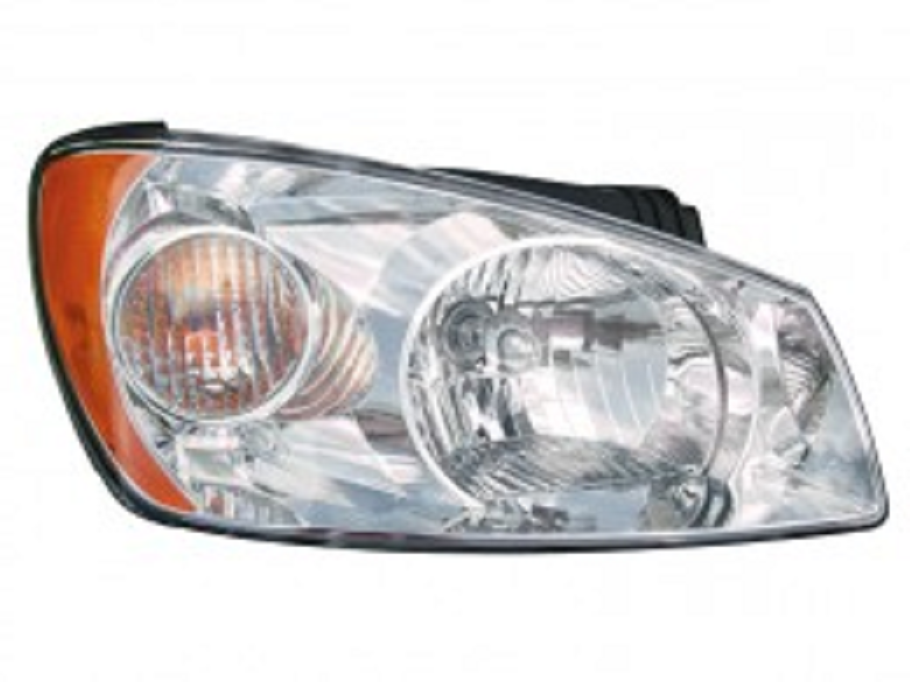 Kia Spectra Sedan 2004 2005 2006 right passenger headlight LX model