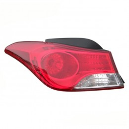 Hyundai Elantra sedan 2011 2012 2013 tail light outer left driver