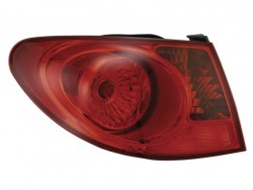 Hyundai Elantra sedan 2007 2008 2009 2010 tail light outer left driver