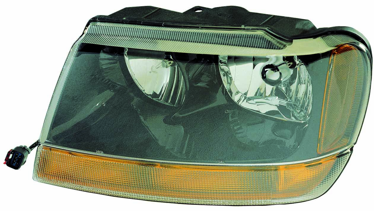 Jeep Grand Cherokee 2004 left driver headlight Laredo Sport