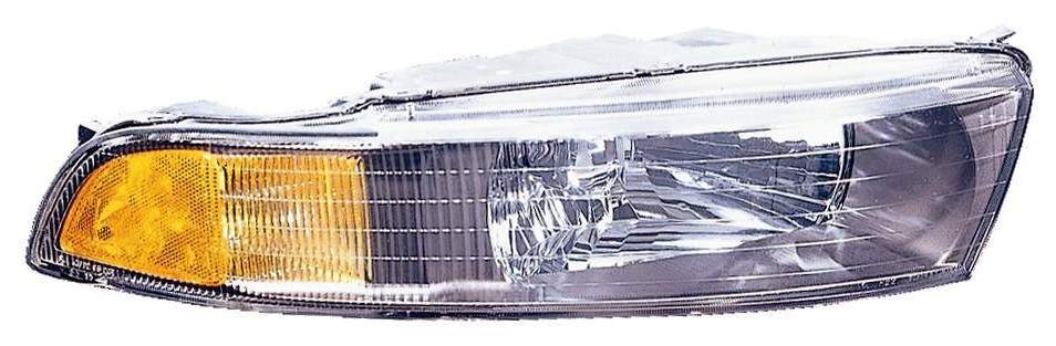 Mitsubishi Galant 2002 2003 right passenger headlight