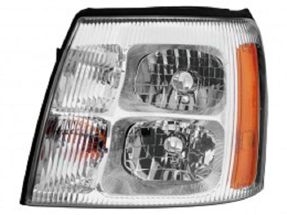 Cadillac Escalade 2003 2004 2005 2006 left driver HID headlight