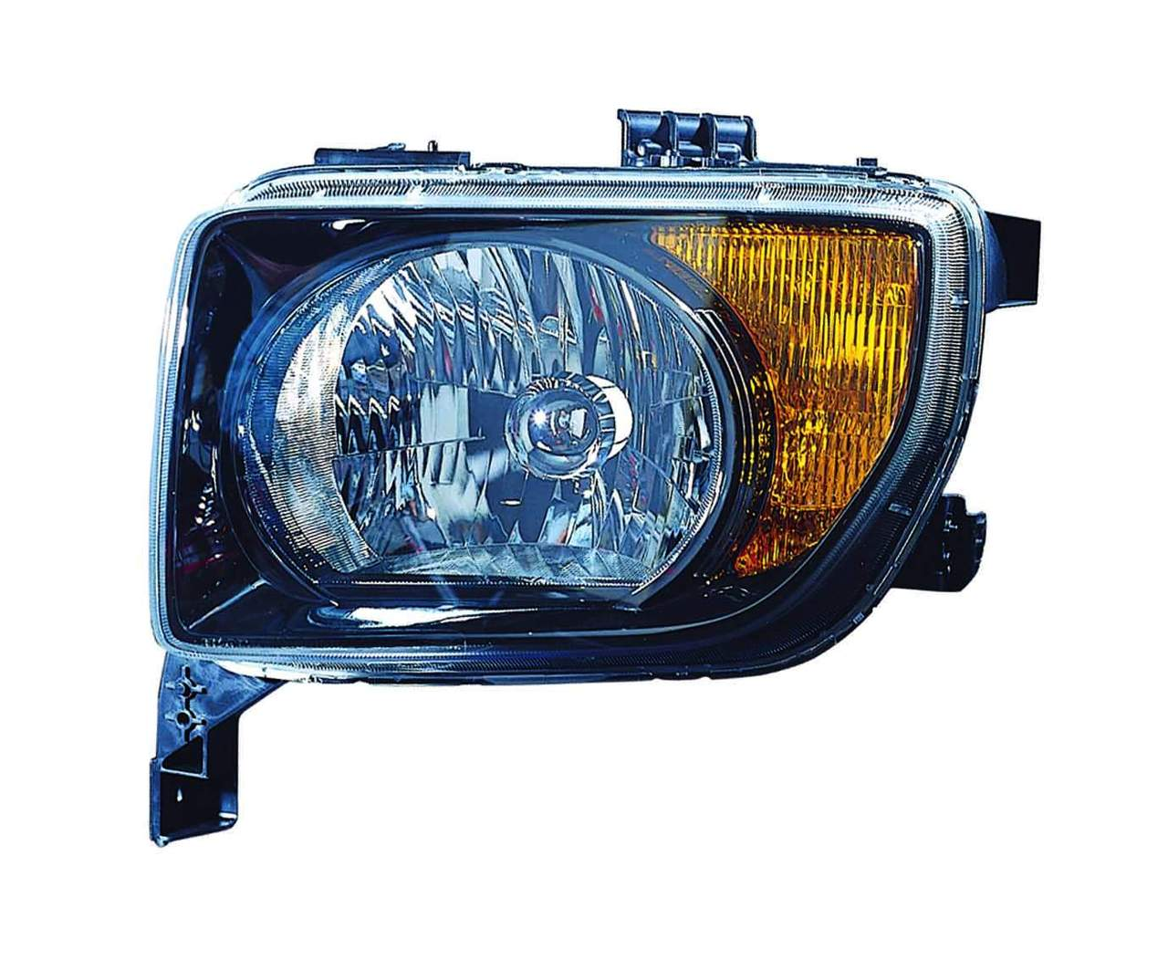 Honda Element 2007 2008 left driver headlight