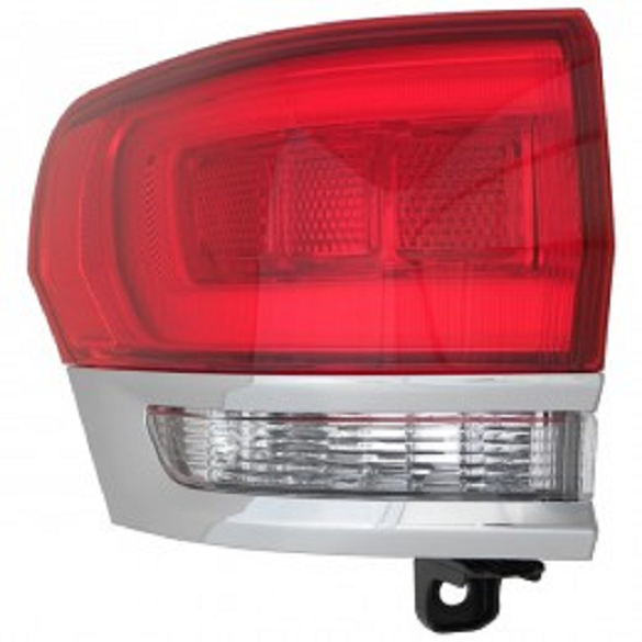 Jeep Grand Cherokee 2014 2015 2016 tail light left driver outer