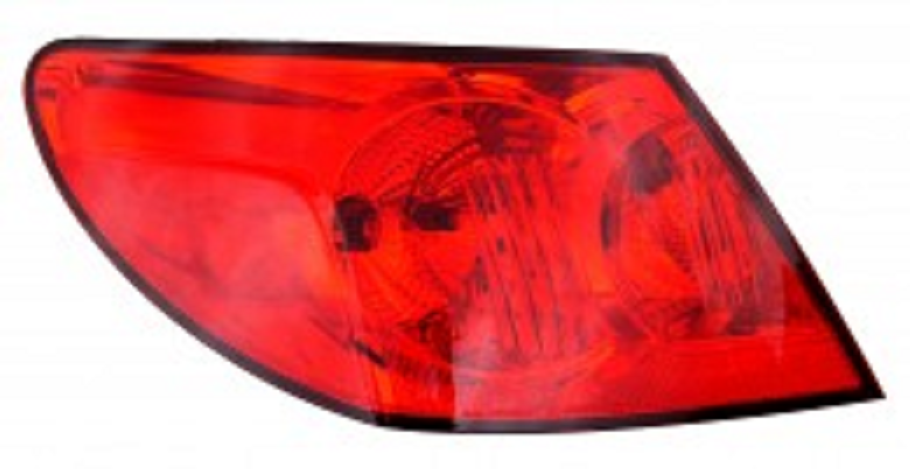 Chrysler Sebring sedan 2009 2010 tail light outer left driver