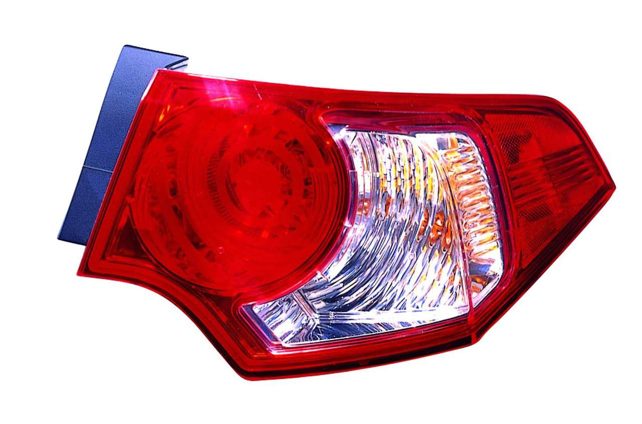 Acura TSX 2009 2010 tail light outer right passenger