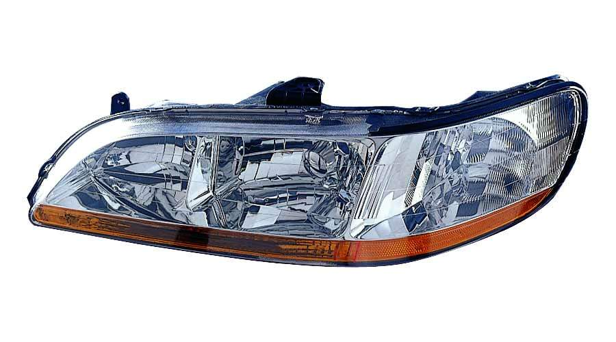 Honda Accord 2001 2002 left driver headlight