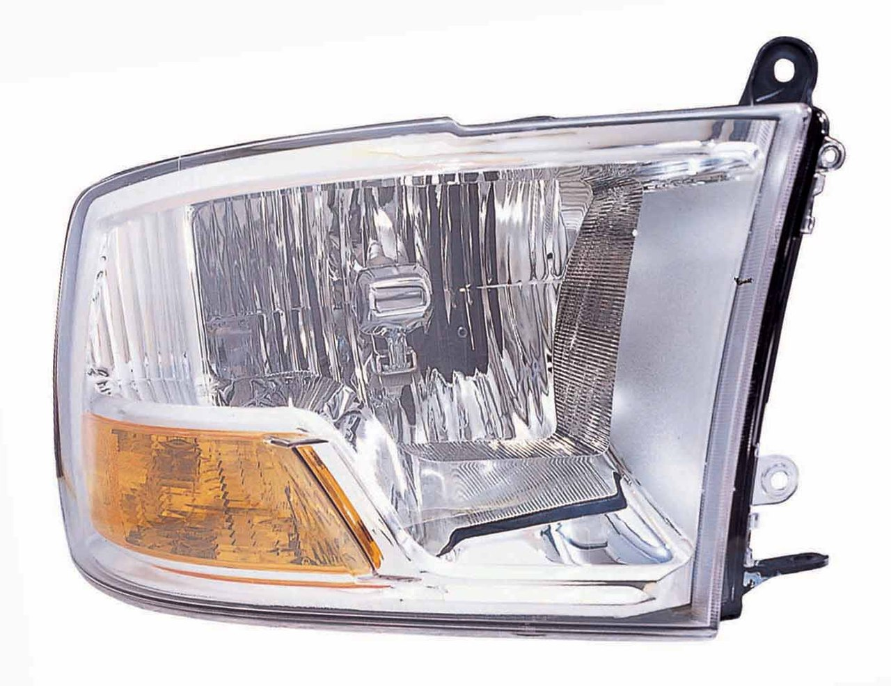 Dodge RAM 1500/2500/3500 2010 2011 2012 2013 2014 2015 right passenger headlight (no quad lamp)