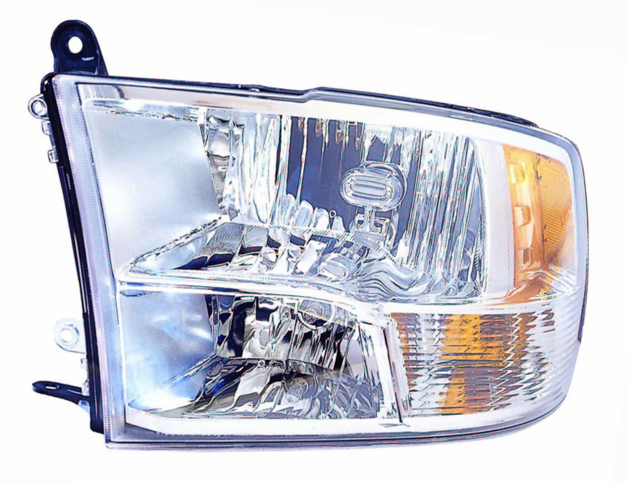 Dodge RAM 1500/2500/3500 2010 2011 2012 2013 2014 2015 left driver headlight (Quad Lamp)