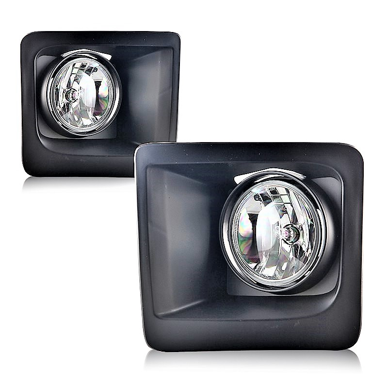 GMC Sierra 1500 2014 2015 left right fog lights bezels & wiring kit