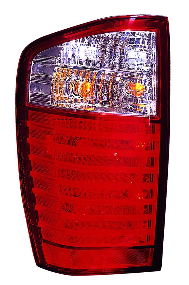 Kia Sedona 2006 2007 2008 2009 2010 tail light left driver