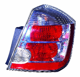 Nissan Sentra 2007 2008 2009 tail light right passenger