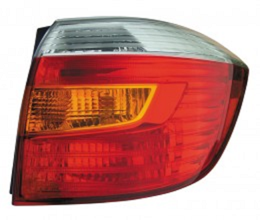 Toyota Highlander 2008 2009 2010 tail light right passenger