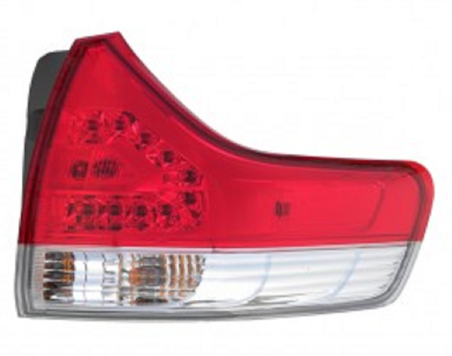 Toyota Sienna 2011 2012 2013 2014 tail light outer right passenger