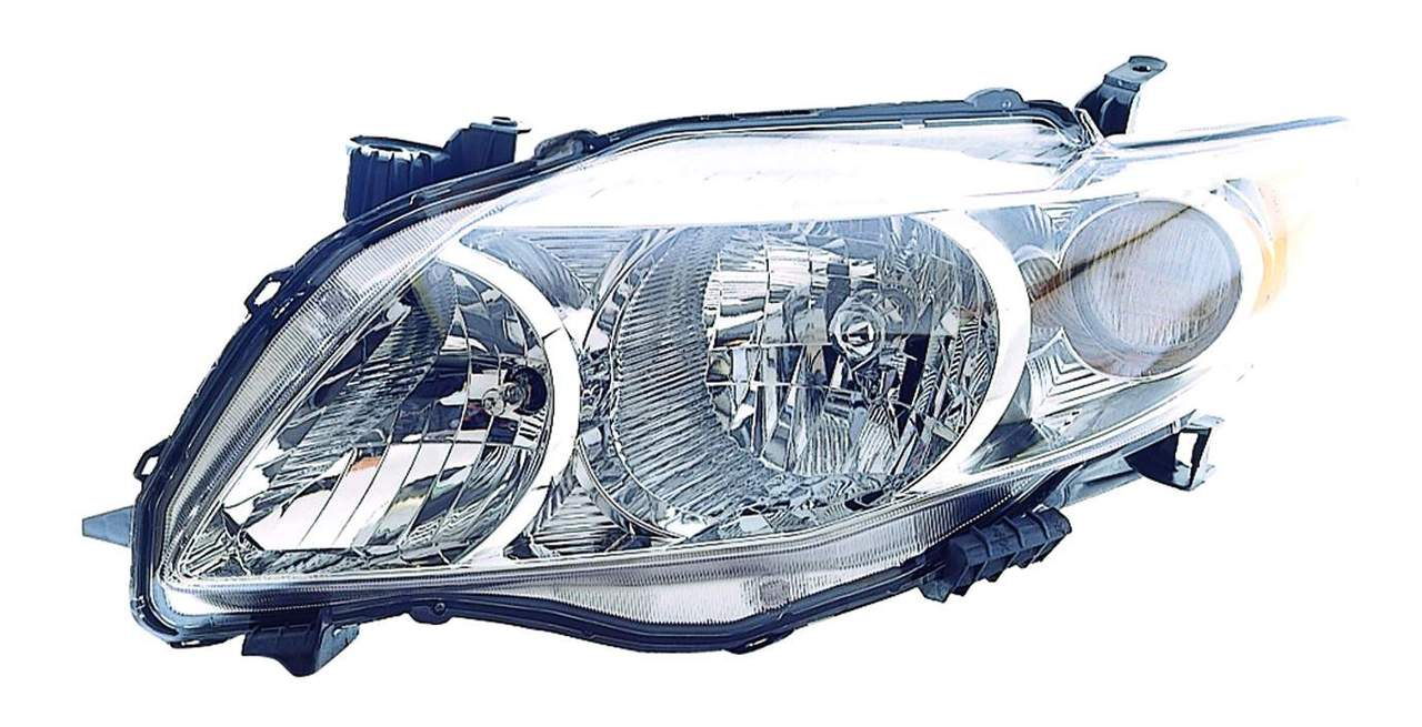 Toyota Corolla sedan 2009 2010 left driver headlight