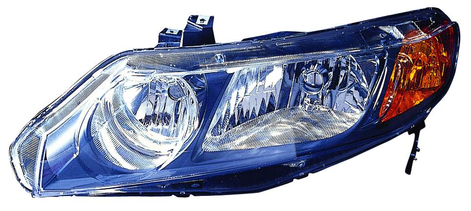 Honda Civic Sedan 2006 2007 2008 left driver headlight