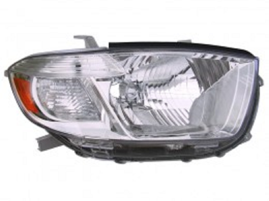 Toyota Highlander 2008 2009 2010 right passenger headlight (US built)