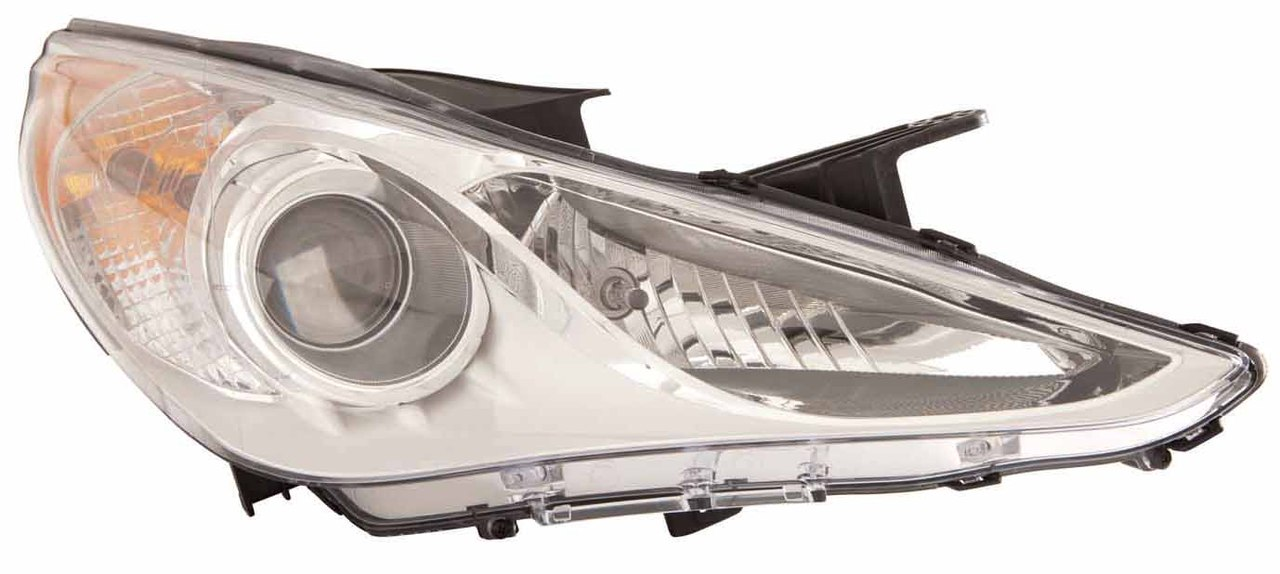 Hyundai Sonata GLS model 2011 2012 2013 2014 right passenger headlight