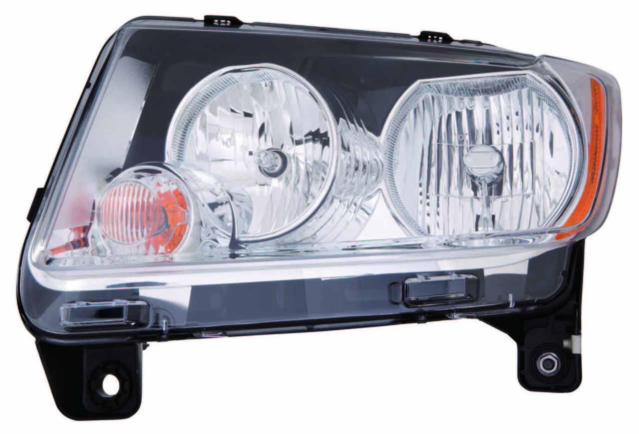 Jeep Compass 2011 2012 2013 left driver headlight