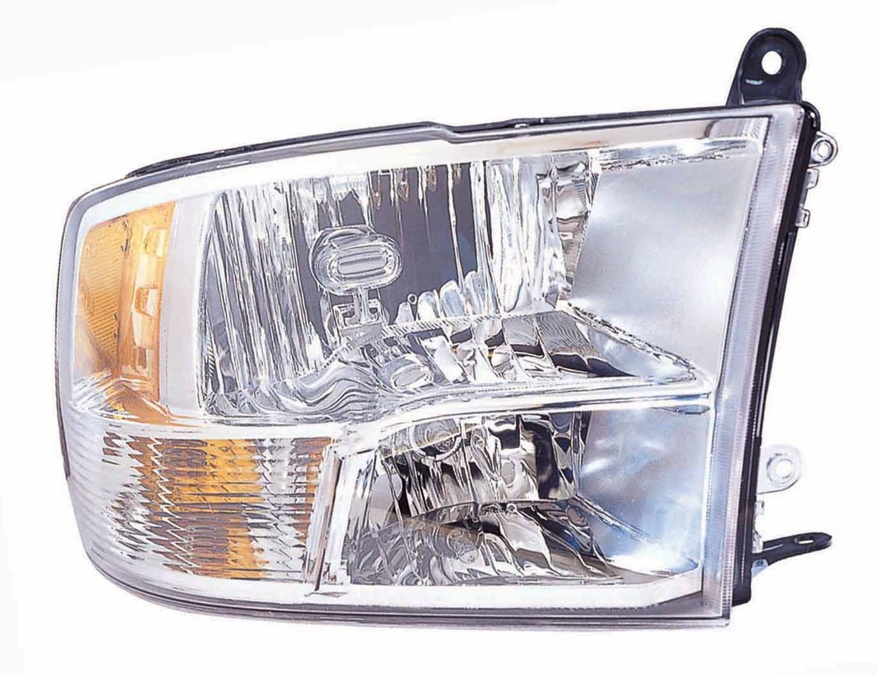Dodge RAM 1500/2500/3500 2010 2011 2012 right passenger headlight with quad lamp (Genuine part)