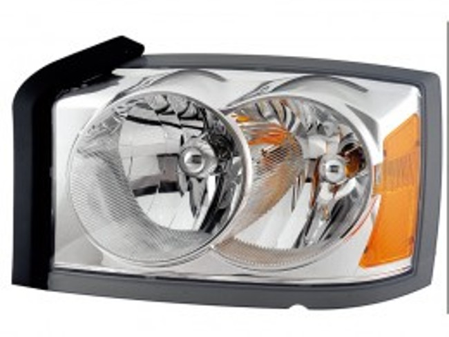 Dodge Dakota 2005 2006 2007 left driver headlight