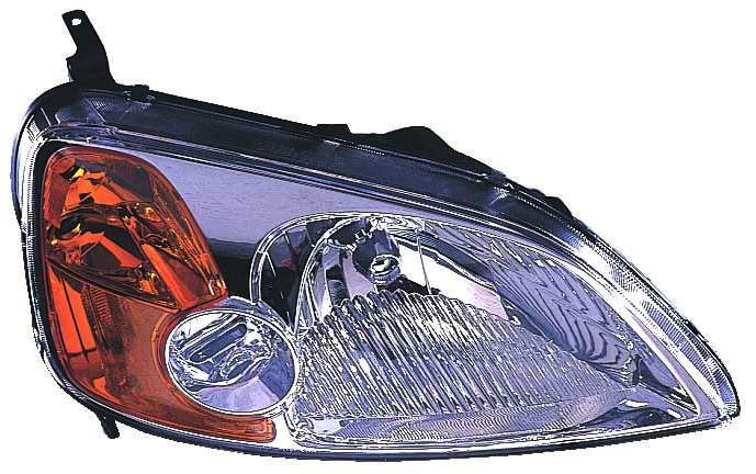 Honda Civic Coupe 2001 2002 2003 right passenger headlight
