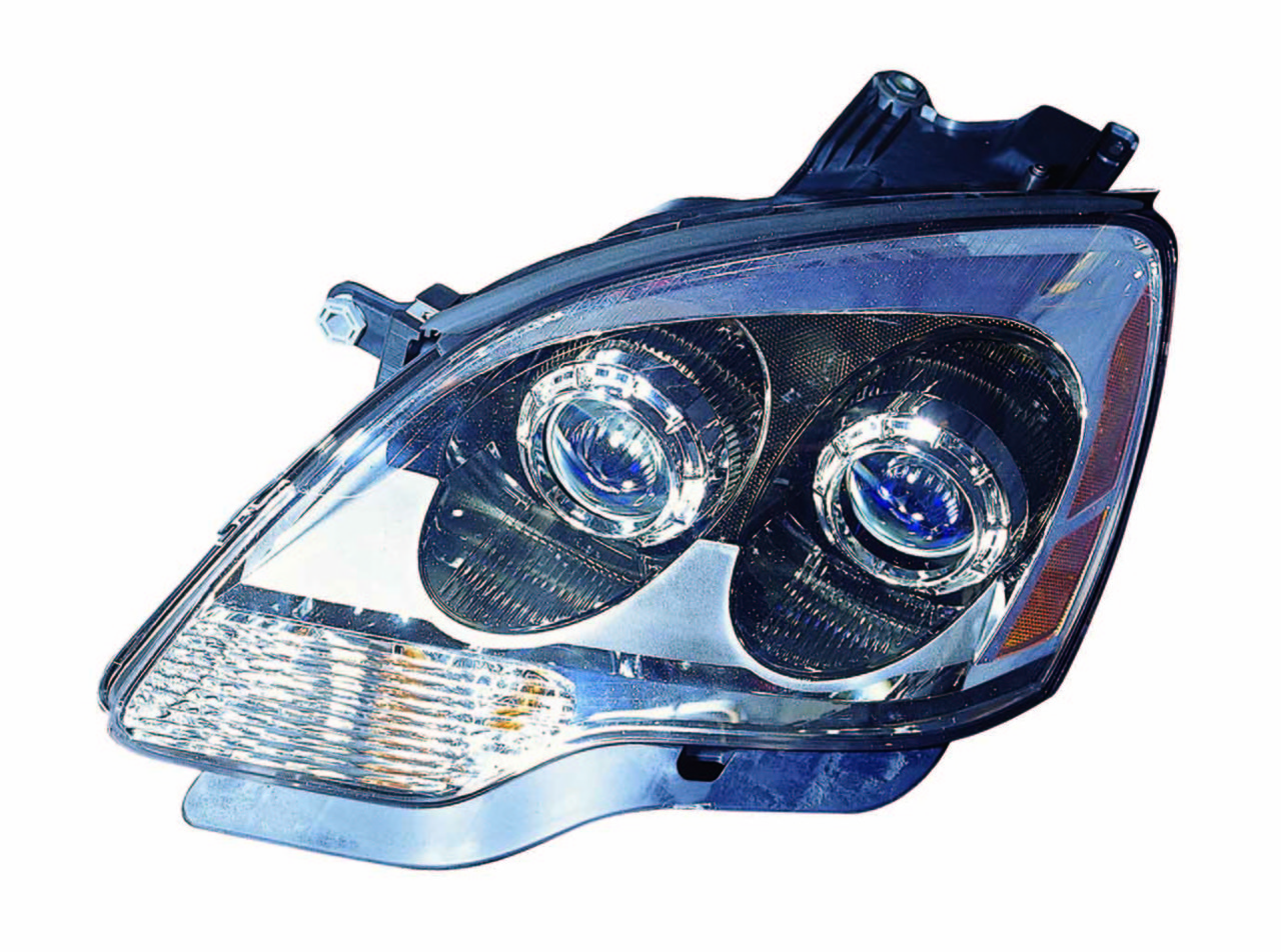 GMC Acadia 2007 2008 left driver headlight