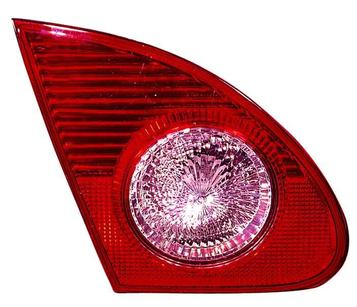 Toyota Corolla sedan 2003 2004 tail light inner left driver