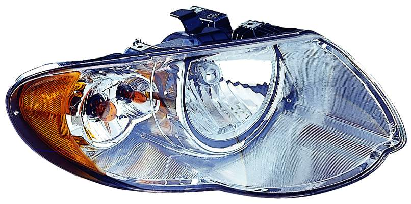 Chrysler Town and Country 2005 2006 2007 right passenger headlight
