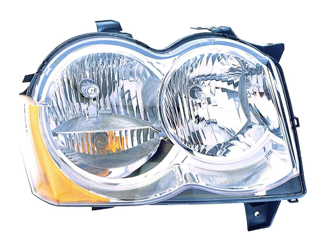 Jeep Grand Cherokee 2008 2009 2010 right passenger headlight