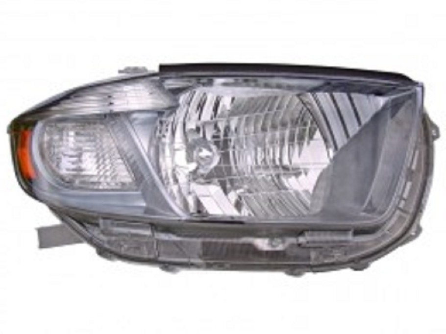 Toyota Highlander 2008 2009 2010 right passenger headlight Sport model (US built)