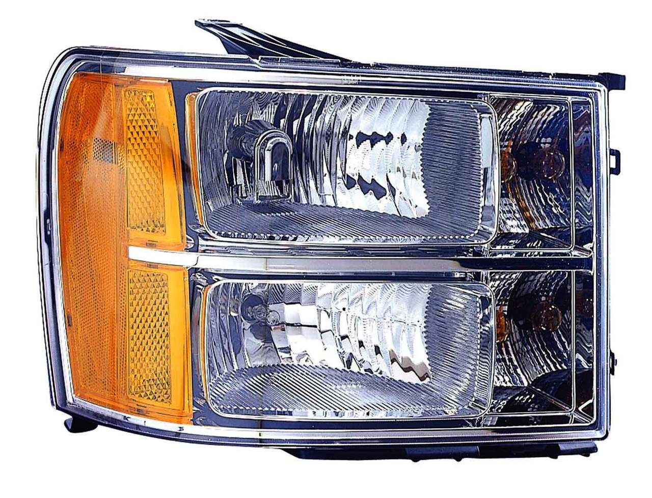 GMC Sierra 1500/2500/3500 2011 2012 2013 right passenger headlight