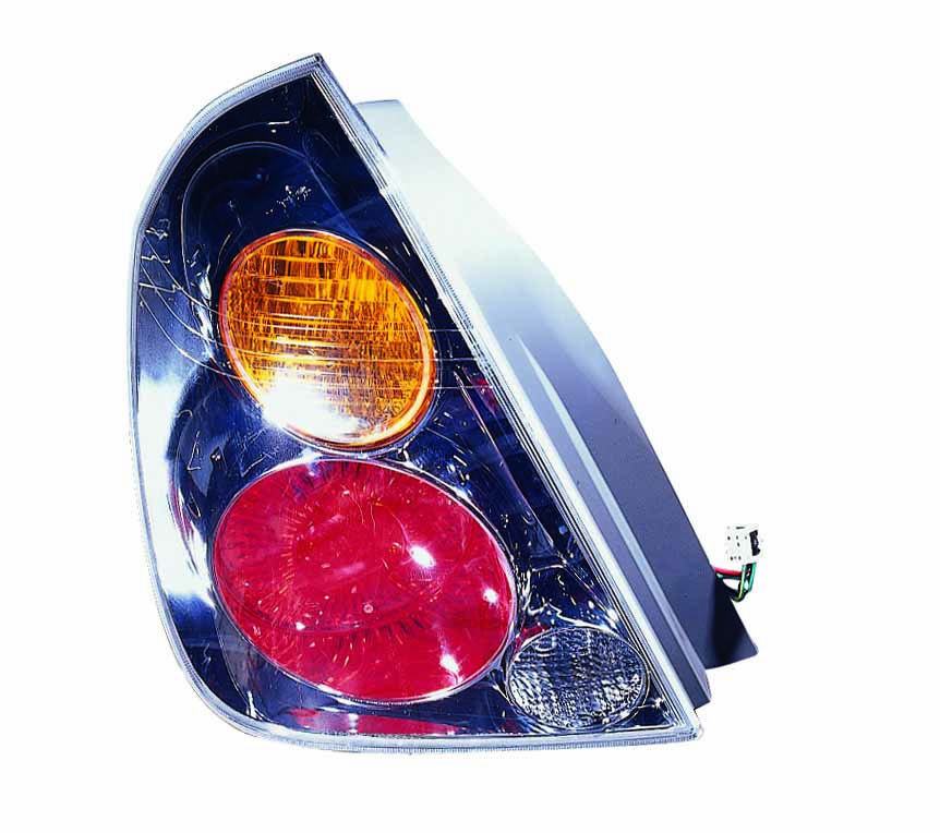 Nissan Altima Sedan 2002 2003 2004 tail light left driver
